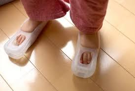 nintendo wii feet