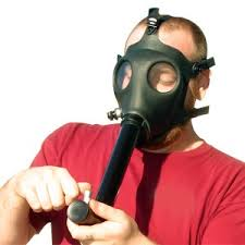 gas masks bongs