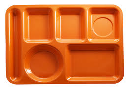 plastic lunch tray