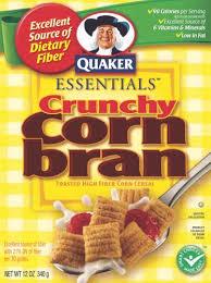 corn bran cereal