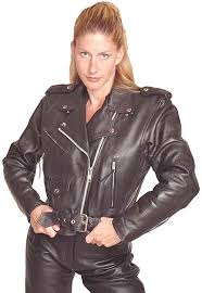 leather biker girls