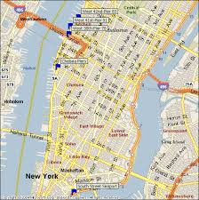 nyc tour map