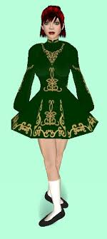 irish step dance dress