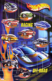 hot wheels posters