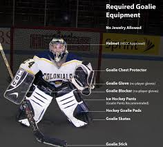 ice hockey goaltender