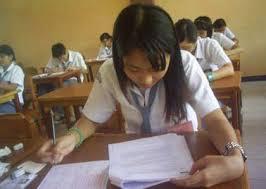 Ilustrasi: Suasana ujian nasional