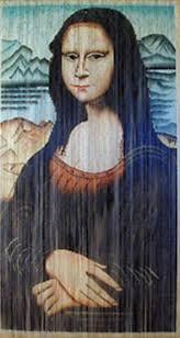 mona lisa painted