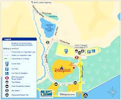 disneyland hongkong map