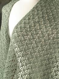 crocheted wrap