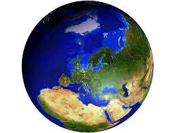 3d globe of the world