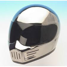 chrome motorcycle helmets