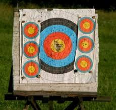homemade archery targets