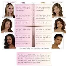 hair colour for cool skin tones