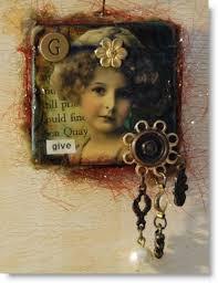 altered art jewelry