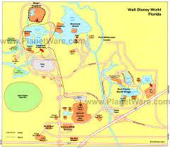 map walt disney world