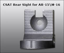 ar 15 iron sights