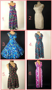 50s and 60s dresses