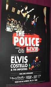 police concert