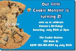 cookie invites
