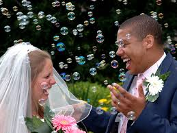 bubbles weddings