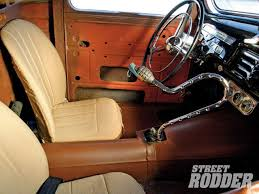 ford truck interior