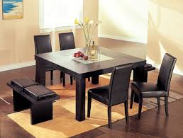 contemporary square dining tables