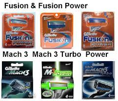 gillette mach fusion