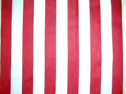 red and white stripe material