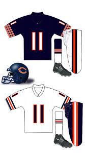 chicago bears uniform