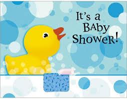 baby shower duck invitations