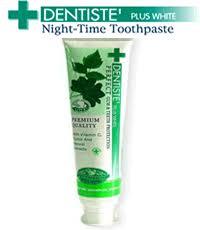 dentiste toothpaste