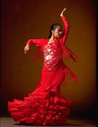 flamenco dancers costumes