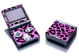 game boy advance pink