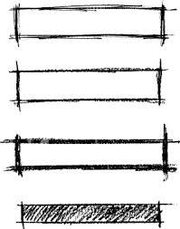 pencil text