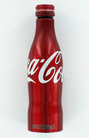 aluminum coke bottle