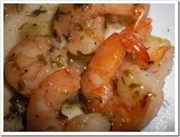 glazed shrimp