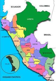 mapa de peru lima