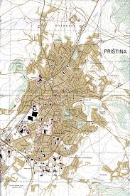 map of prishtina