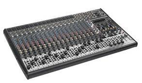 behringer sx2442fx eurodesk mixer