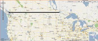 canada us border map