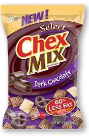 dark chocolate chex mix