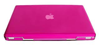 hot pink apple laptops