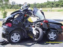 motorbike crashes pictures