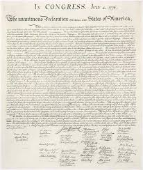 declaration of independence day