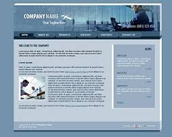 blue web templates