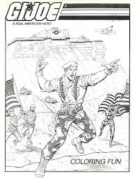gi joe coloring pictures