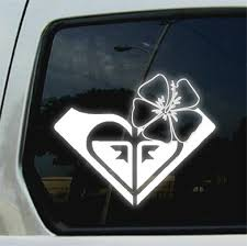 flower stickers for car