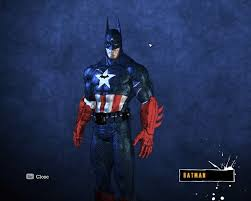 captain america batman