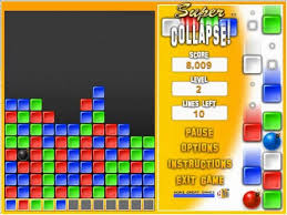 collapse computer game