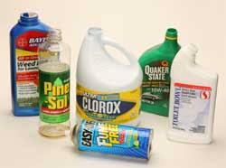 household hazardous materials